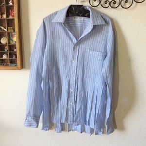 Dior Tops - Christian Dior Up-Cycled Button Up Shirt Fringe